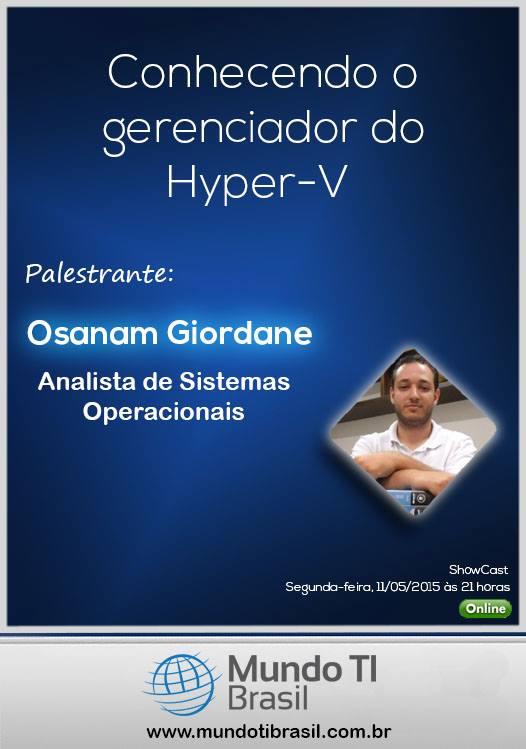 Conhecendo o Gerenciador do Hyper-V