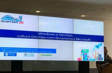 DevOps Days BH 2019 |  Windows e DevOps: Cultura DevOps com ferramentas Microsoft
